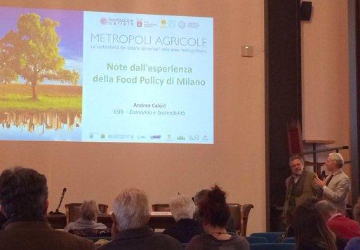 Andrea Calori presenta le esperienze di Food Policy