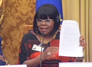 Nomatemba Tambo, Ambasciatrice del Sud Africa