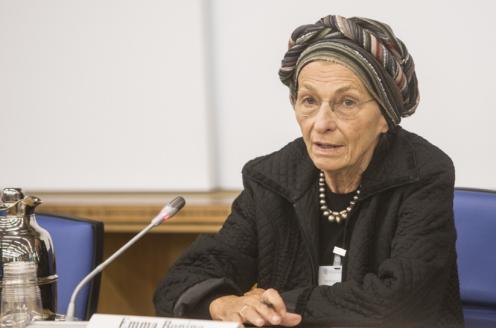 Emma Bonino in apertura dei lavori del MUFPP workshop. ©FAO/Alessandra Benedetti