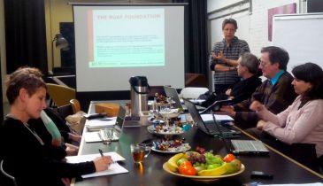 Global Partnership Meeting, Direttrice della RUAF Foundation, Marielle Dubbeling. Ghent (Belgio).
