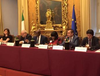 Presentazione dell'Africa Act, Camera dei Deputati