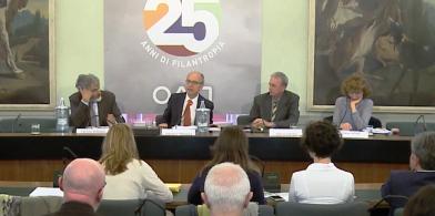 Panel con la presentazione dei due territori Oltrepò Pavese e Val Trompia.